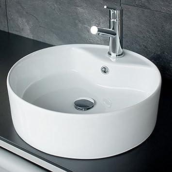 Rundes Waschbecken.Rundes Design Keramik Aufsatz Waschbecken Waschschale