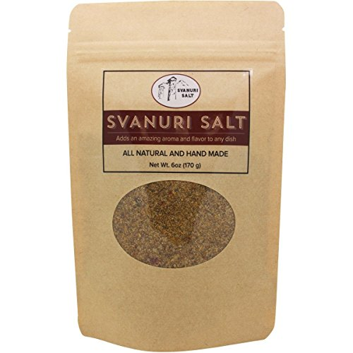 Svanuri Salt - All Natural Hand Made Great Georgian Cuisine Seasoning (6oz)
