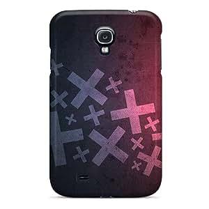 New Premium Flip Case Cover Minimalistic Symbol Skin Case For Galaxy S4