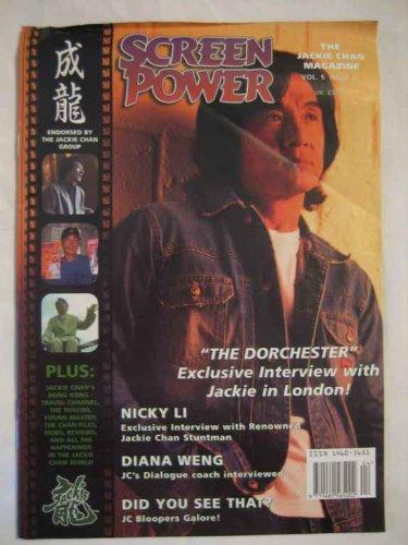 Screen Power V.5 #2 2003 Nicky Li Diana Weng Jackie Chan Tuxedo Bloopers (Tuxedo Jackie Chan)