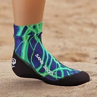 product image for Sand Socks Toddler Green Lightning Extra Large