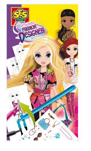 (SES Creative Catwalk Fashion Designer Figure Set)