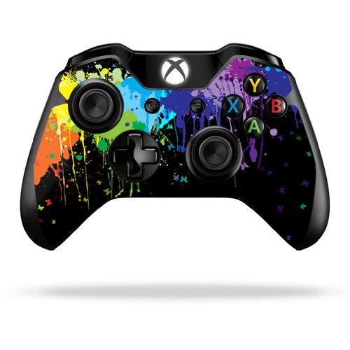 Protective Vinyl Skin Decal Cover for Microsoft Xbox One/One S Controller wrap sticker skins Splatter