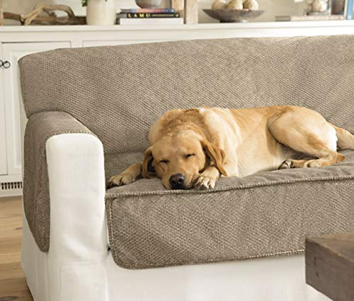Orvis Grip-Tight Furniture Protector/Only Loveseat Protector, Brown Tweed by Orvis
