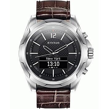 HP Titan Reloj Inteligente para Hombre de Acero Inoxidable ...