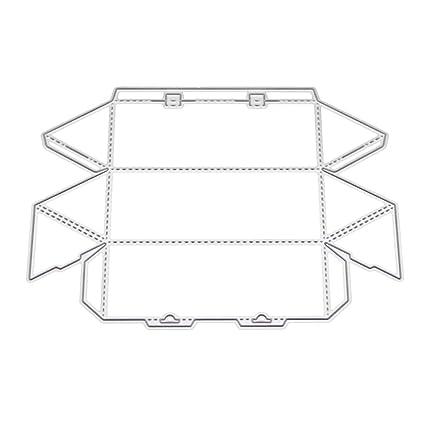 Qiman - Caja 3D de Metal para Cortar, Plantilla, álbumes de ...