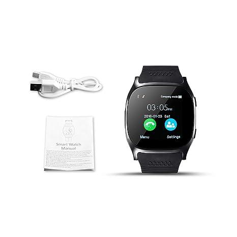 Reloj inteligente T8 Bluetooth con cámara Reproductor de ...