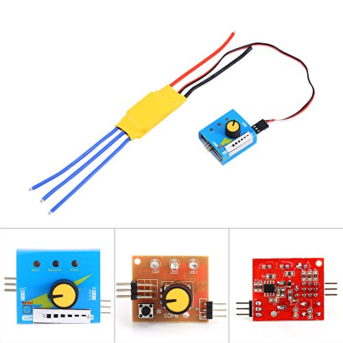 Brushless Speed Controller 40a - 30A 12V DC 3-phase High-Power Brushless Motor Speed Regulator PWM Controller