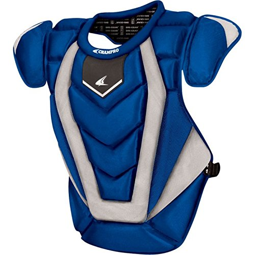 Champro Pro Plus Chest Protector (Royal, 17.5-Inch length) -