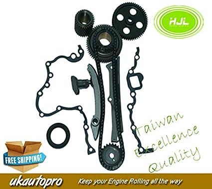 Amazon com: Timing Chain Kit Fit MITSUBISHI Pajero Delica Canter