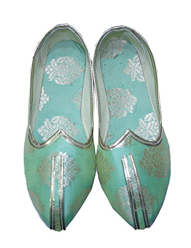 Green For Jutti Shoes Indian Matching Mojari 11 Pinkcitycreations Ethnic Wedding Tradition Mens And Sherwani qfg7wnW6