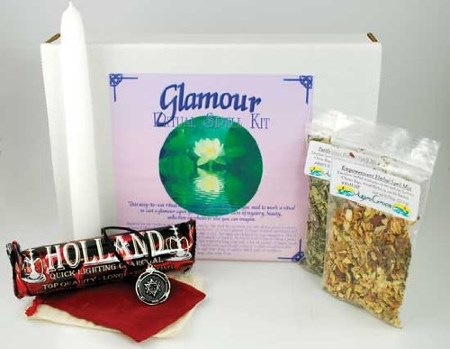 Fortune Telling Toys Boxed Magic Spell Kit Glamour Aura Mystery Beauty Seduction