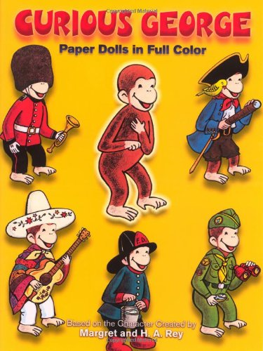 Curious George Paper Dolls (Dover Paper Dolls)
