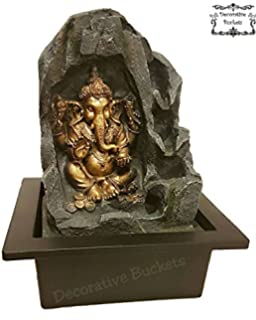 Petrichor Ganesha Water Indoor Fountain Home Decor Amazonin