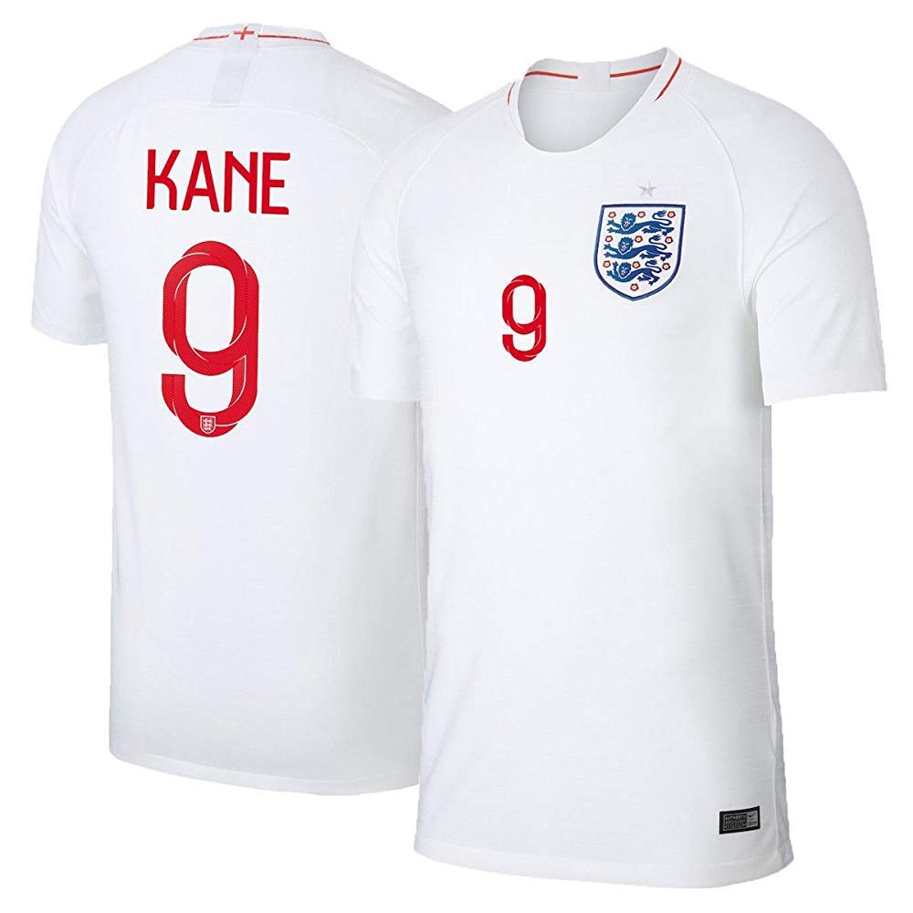 b9a72233d Amazon.com : Scshirt 2018 Russia World Cup Kane #10 England Home Soccer  Jersey - Soccer Jersey Size XL : Sports & Outdoors