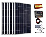 ECO-WORTHY 600 Watts (6pcs 100 Watt) Solar Panel Kit 20A LCD Charge Controller & 3000W Off Grid Power Inverter Review