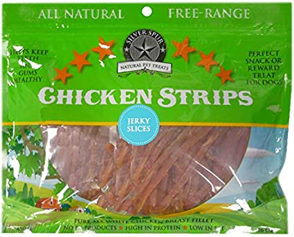 Silver Spur Soft Chicken Jerky Slices 85g