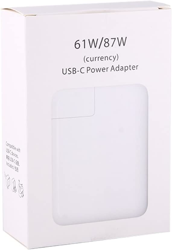 Cables, 87W 61W USB C Type C 3.1 Power Adapter Fast