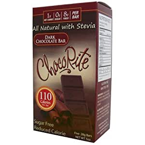 Amazon.com : Sugar Free Dark Chocolate Bars with Erythritol - LC Foods - HeartSmart - Low Carb