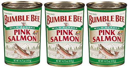 Bumble Bee Premium Wild Pink Salmon (Pack of 3) 14.75 oz Cans