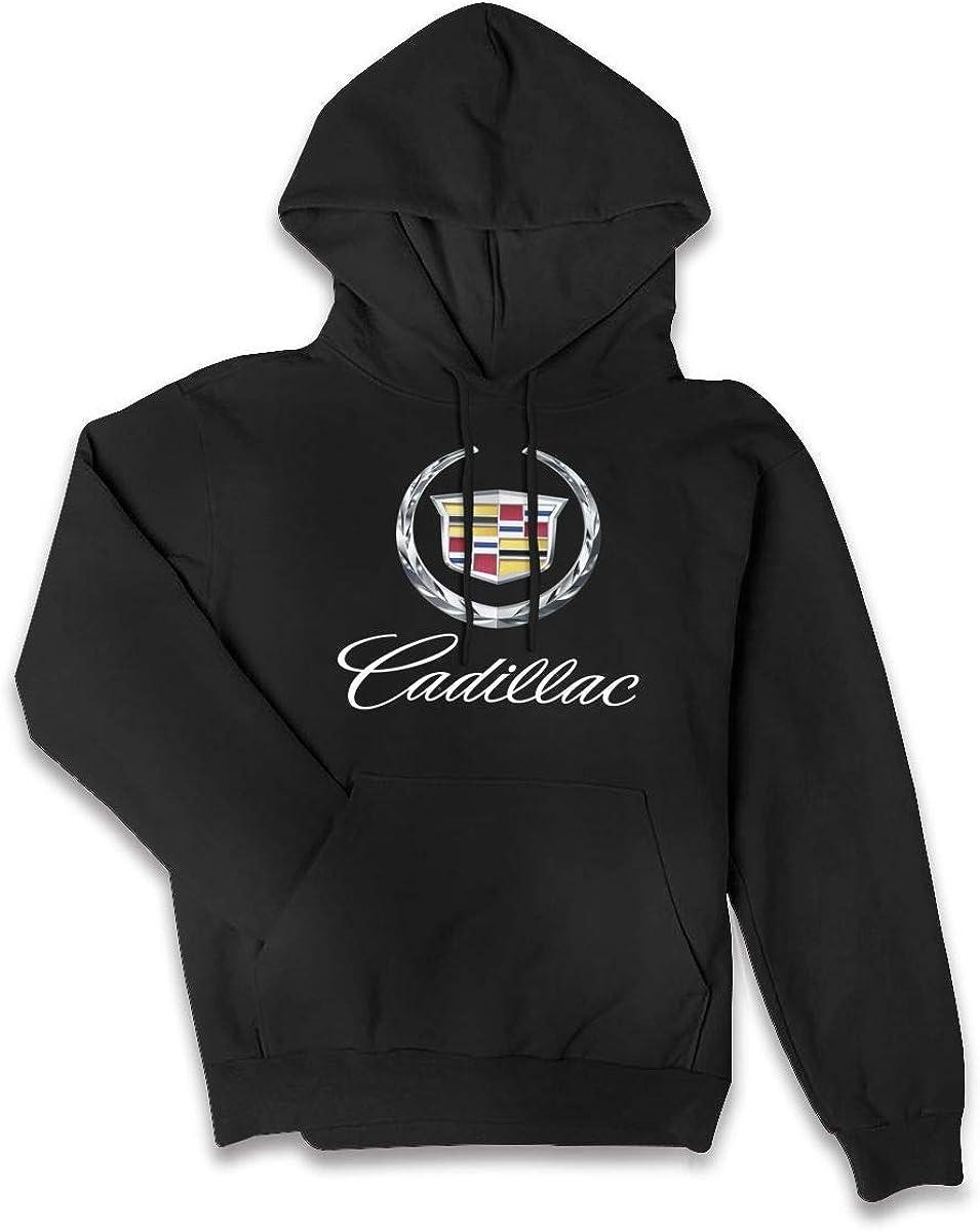 Lponvx General Motors Corporation Cadillac Logo Hoodie Womens Casual Zip-up Sweatshirts Jackets Coats
