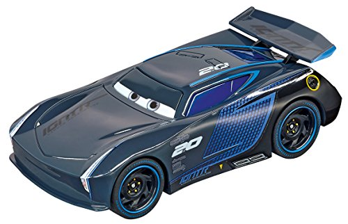 Carrera 64084 GO!!! Disney/Pixar Cars 3 Jackson Storm Slot Car Racing Vehicle