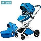 Hot Mom Limited Edition Kombikinderwagen und Buggy Sportwagen 3-in-1 Travelsystem 2016 mit Kinderwagenaufsatz