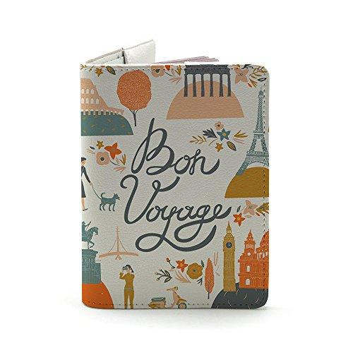 35b0e200bf71 Bon Voyage Leather Passport Holder and Travel Wallet   Mugwomp