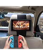 "Car Headrest Mount Holder, Fits All 7 Inch to 13.33 Inch Tablets, Nintendo Switch - Apple iPad, iPad 4 (iPad 2 & 3),  iPad Mini 2/3/4 - iPad Pro 9.7"" - Samsung Galaxy Tab & Note and More"