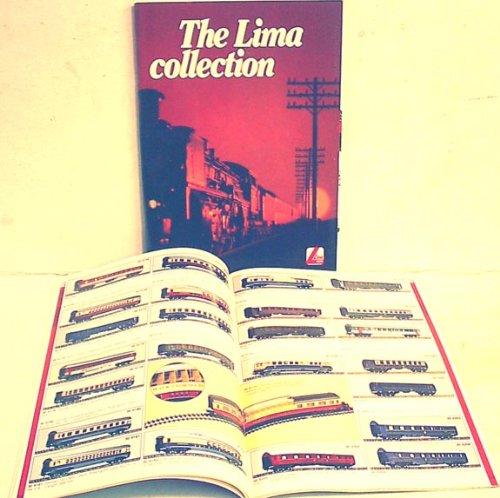 LIMA 1983 Train Catalog N & HO Scale color book