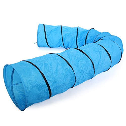 TOBBI Agility Pet Tunnel Training Toy Open Equipment Dog Outdoor Obedience Exercise