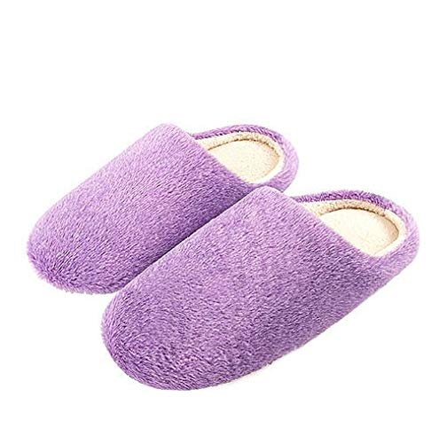 Da Scarpe Casa Morbide Nsbm Purple Calde In Donna Cotone Terlik Ginnastica Pantofole Per REdnwISq