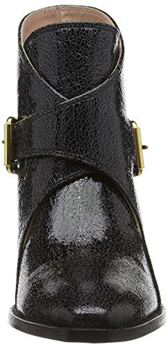 Moschino Sca Nod Texano45 Capracrack Nero, Stivaletti Donna Nero (Black (Black 000))