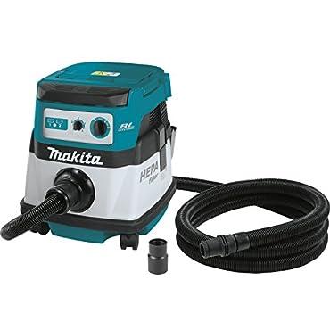 Makita XCV07ZX 18V X2 LXT HEPA Dry Dust Extractor Cordless Vacuum - Bare Tool