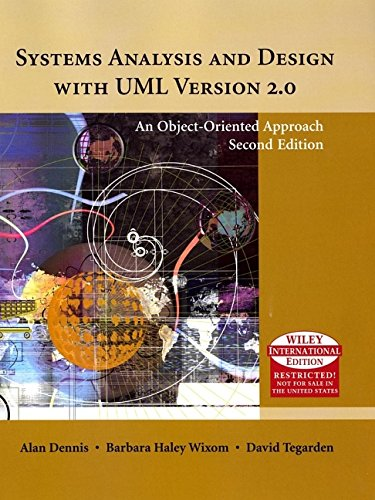 Systems Analysis and Design with UML - International edition