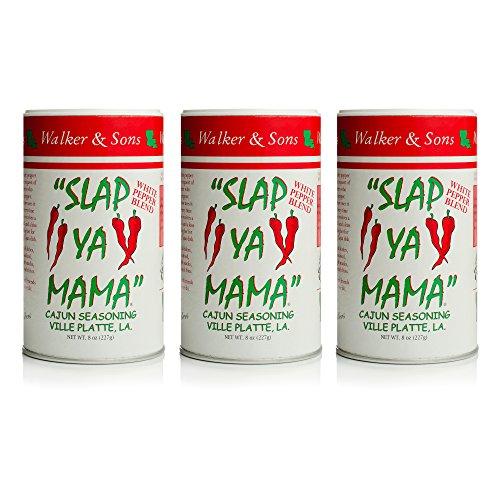 (Slap Ya Mama White Pepper Blend 8oz, Pack of 3)