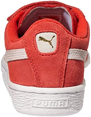 PUMA SUEDE 2 STRAPS INF TODDLER SIZES HIGH RISK RED 35627403
