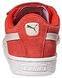 PUMA unisex-child Suede 2 Straps Sneaker