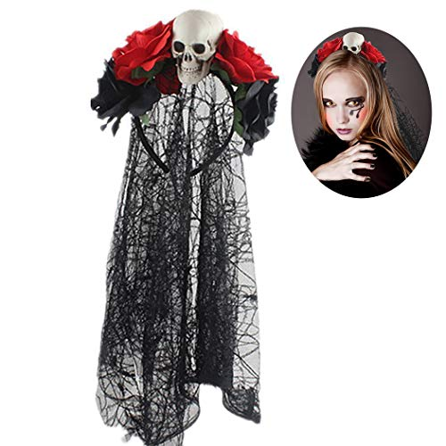Best Coxeer Womens Halloween Costumes - Halloween Headband,Coxeer Day of The Dead