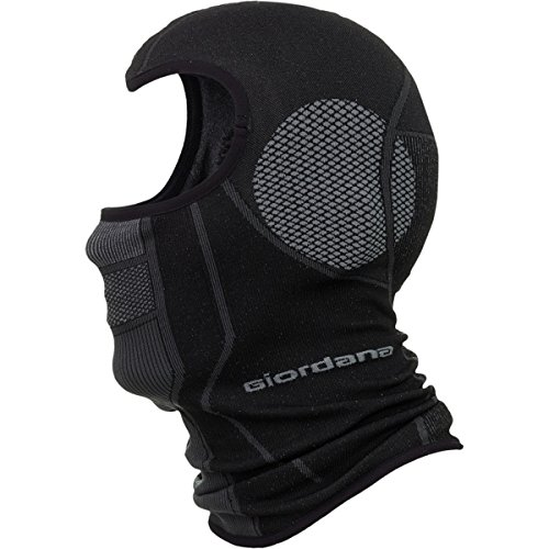 Giordana Knitted PolyPro Balaclava Grey/Black, One Size