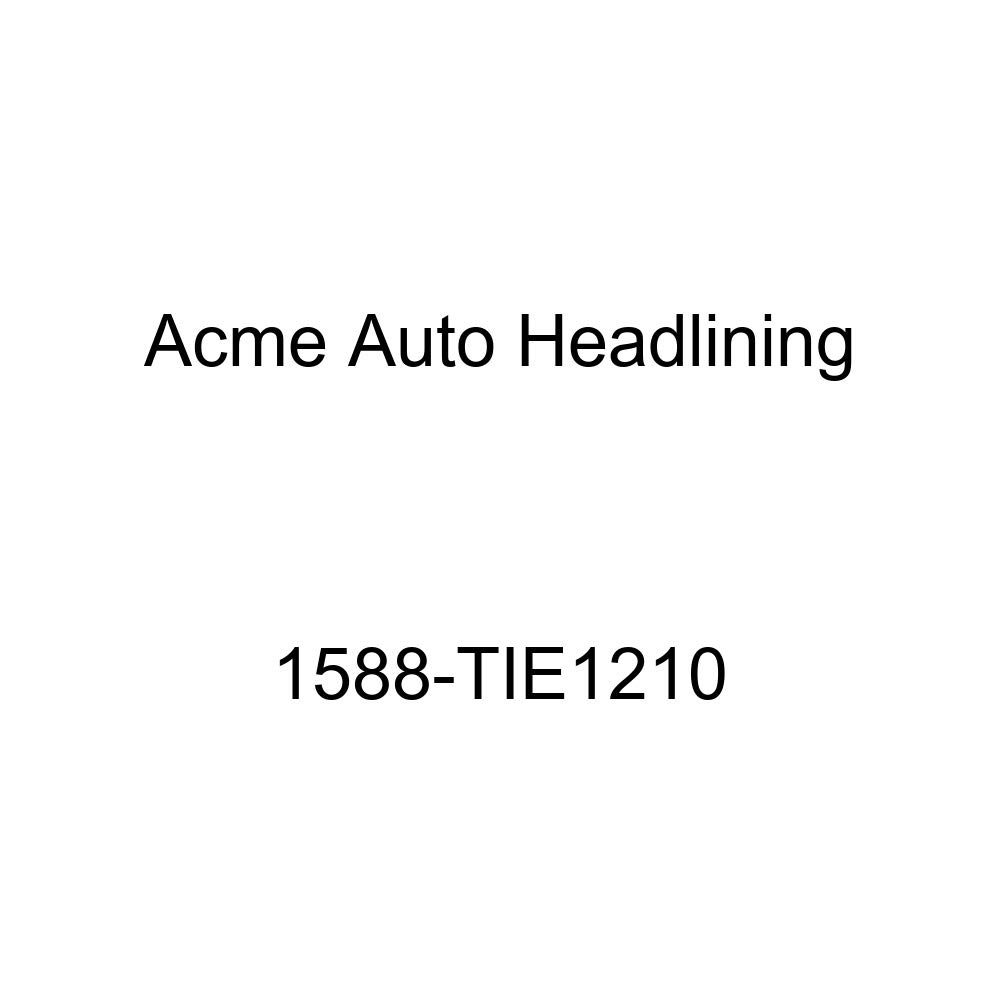 Acme Auto Headlining 1588-TIE1210 Maroon Replacement Headliner 1959 Pontiac Bonneville /& Catalina 2 Door Hardtop 4 Bows
