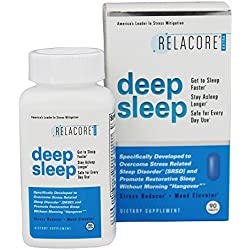 Basic Research Relacore Deep Sleep, 90 Count