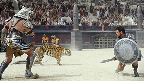 Tomorrow sunny movies Gladiator  24x36 inch art silk poster