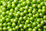 Sweetworks Shimmer Lime Green Sixlets 1 lb Bag