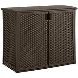 Suncast Elements Outdoor 40-Inch Wide Cabinet