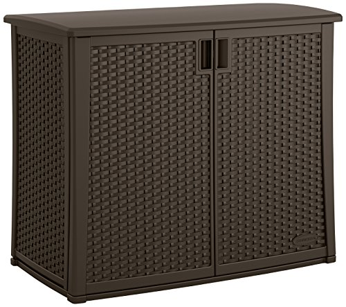 Outdoor Patio Storage - Suncast Elements Outdoor 40-Inch Wide Cabinet