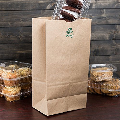 Restaurant Paper To Go Bags - 3