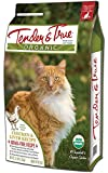 Tender & True 854014 Cat Food Organic Chicken & Liver Dry 7 Lb Bag Dry Cat Food, One Size