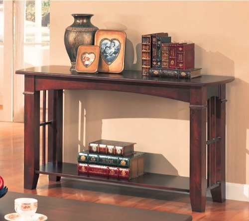 brentwood-sofa-table-with-wood-top-in-cherry