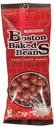Boston Baked Beans Candy Coated Peanuts, Peanut, 2.9 Ounce (Pack of 8) ()